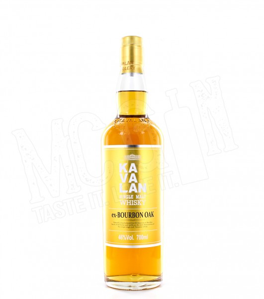 Kavalan Ex Bourbon Oak Single Malt - 0.7L