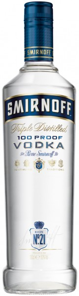 Smirnoff Blue Label No. 57 Vodka - 1.0L