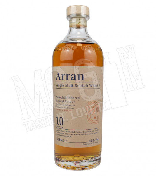 Arran Non-chill Filtered 10 Years - 0.7L- 46%