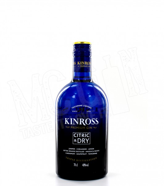 Kinross Citric & Dry Premium Gin - 0.7L