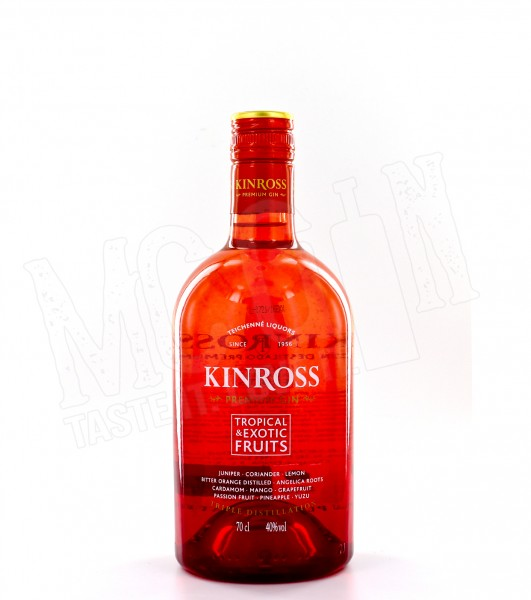 Kinross Tropical & Exotic Fruits Premium Gin - 0.7L
