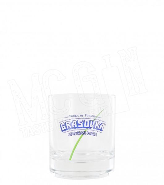 Grasovka Vodka Tumbler Glas