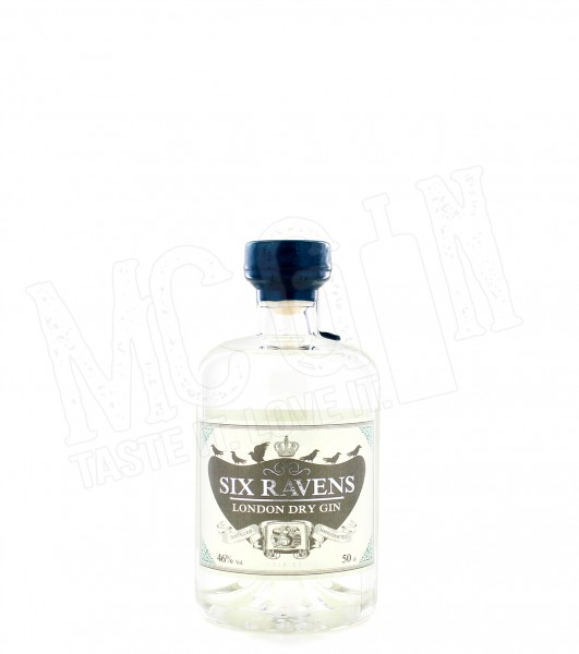 Six Ravens London Dry Gin - 0.5L