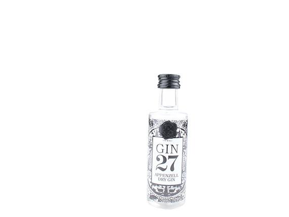 Gin 27 Premium Appenzeller Dry Gin - 0.04L