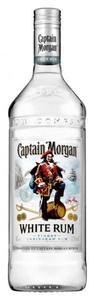 Captain Morgan White Rum - 1.0L