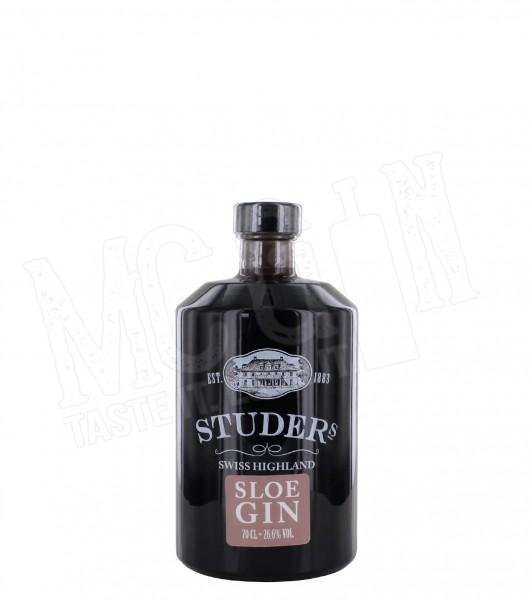Studer Swiss Highland Sloe Gin - 0.7L