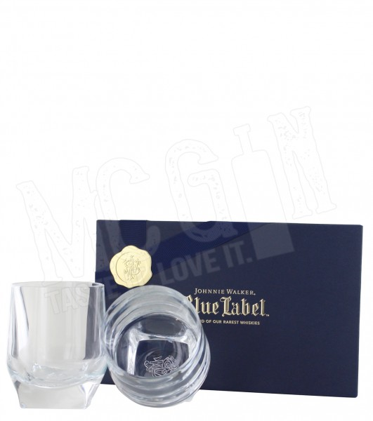 Johnnie Walker Blue Label Kristallglas Tumbler Set