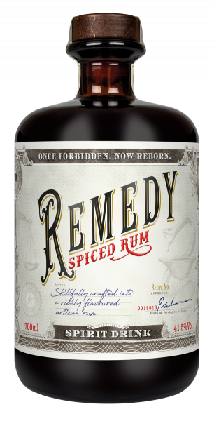 Remedy Spiced Rum 41,5% - 0,7L