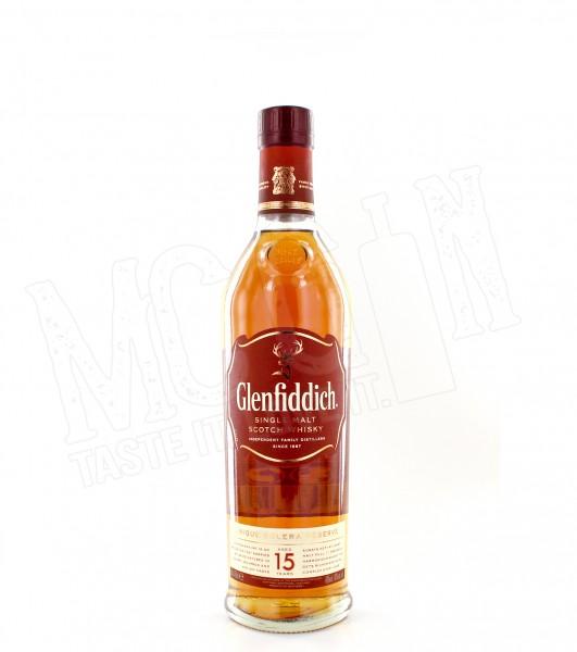 Glenfiddich Single Malt 15 Jahre - 0.7L