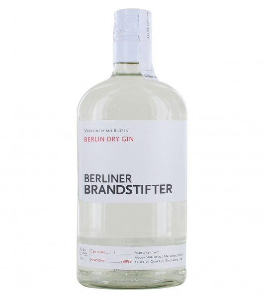 Berliner Brandstifter - Berlin Dry Gin - 0.7L