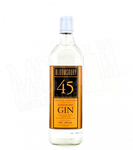 Bloomsbury 45 Orange London Dry Gin - 0.7L