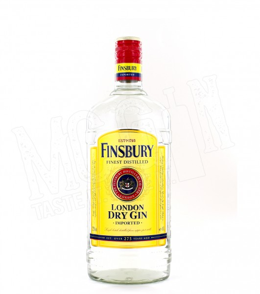 Finsbury Distilled London Dry Gin - 1.0L
