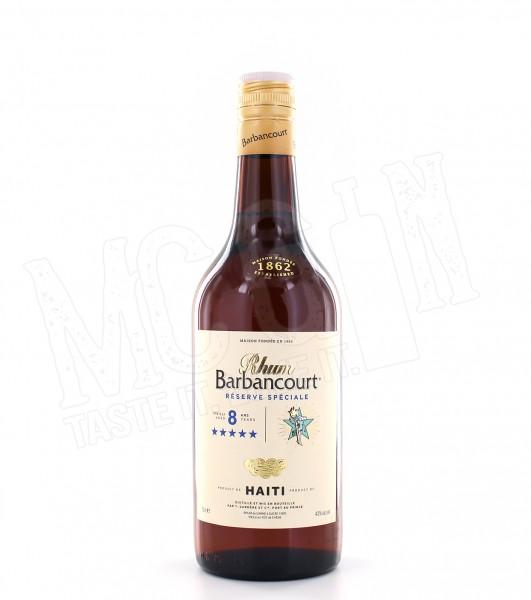 Barbancourt Rhum 8 Jahre - 0.7L