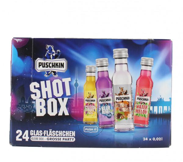 Puschkin Shot Box 24x0,02L - 0.48L - 17,5%