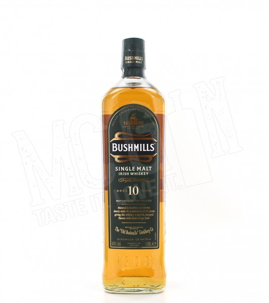 Bushmills Single Malt 10 Jahre - 1.0L