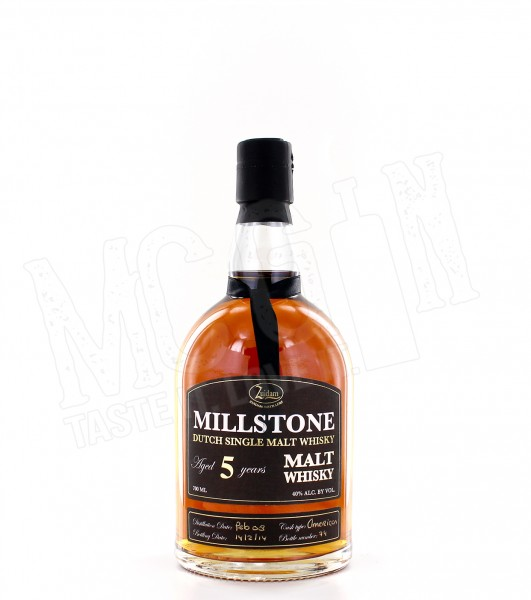 Millstone Dutch Single Malt 5 Jahre - 0.7L