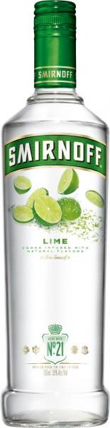 Smirnoff Flavours Vodka Lime - 0.7L