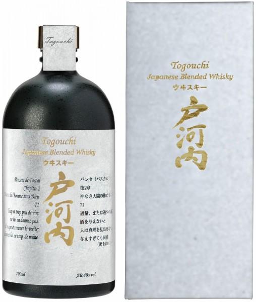 Togouchi Premium Japanese Blended Whiskey - 0.7L