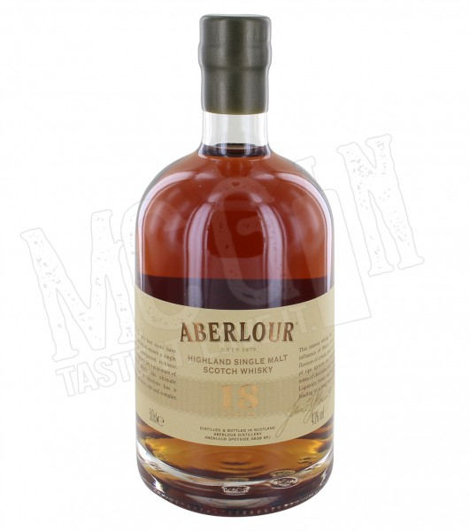 Aberlour 18 years - 0.5L