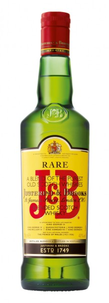 J&B Rare Scotch Whisky - 0.7L