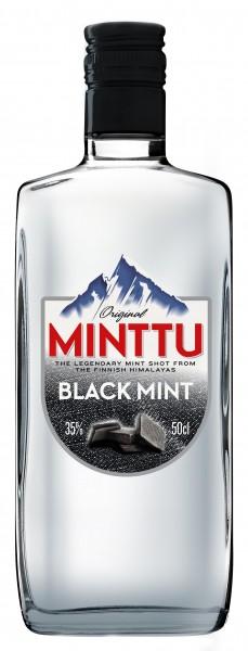 Minttu Black Mint Likör - 0.5L