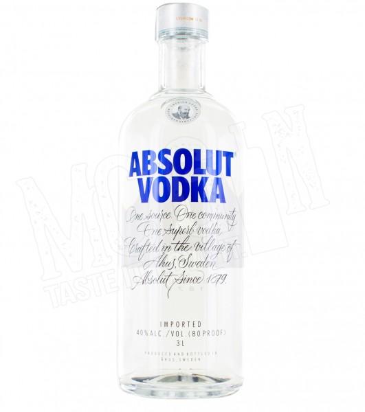 Absolut Vodka - 3.0L