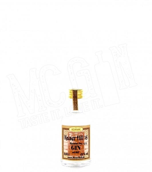 Kaiser Hill 16 Bavarian Dry Gin Mini - 0.05L