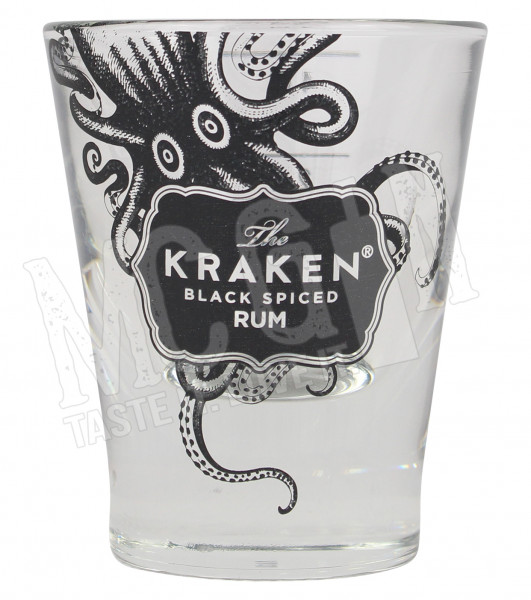 The Kraken Black Spiced Rum Shotglas