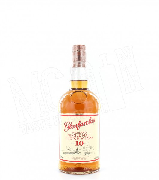 Glenfarclas Highland Single Malt 10 Jahre - 0.7L