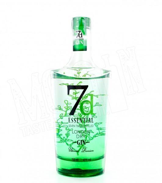 7d Essential London Dry Gin - 0.7L