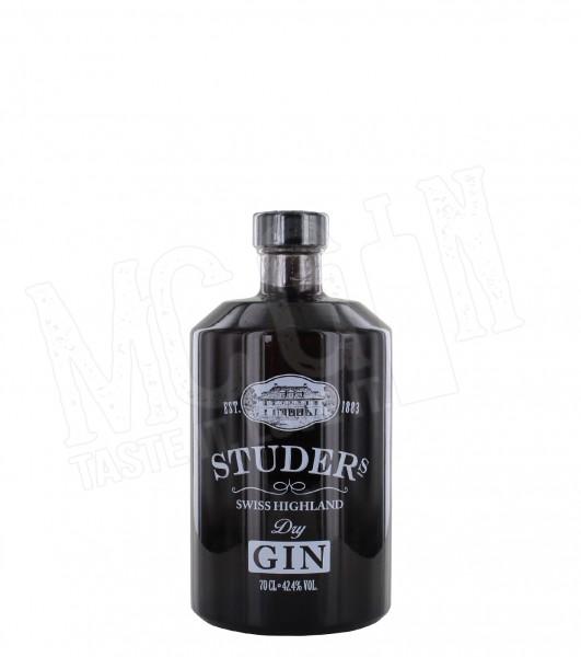 Studer Swiss Highland Dry Gin - 0.7L