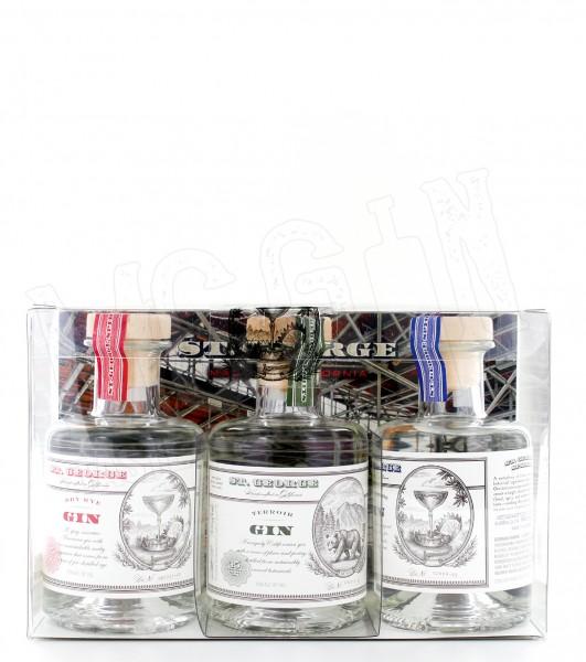 St. George Gin 3er Pack - 0.6L