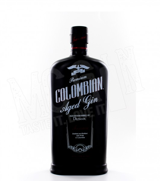 Dictador Colombian Aged Gin Black - 0.7L