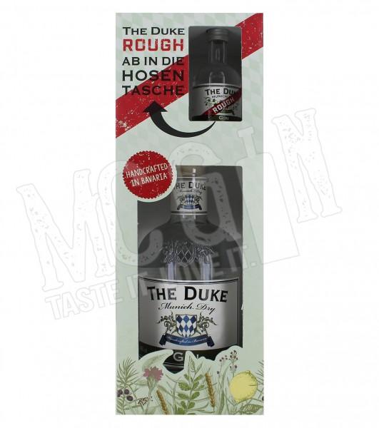 The Duke Munich Dry Gin inkl. Rough Mini - 0.7L - 45%