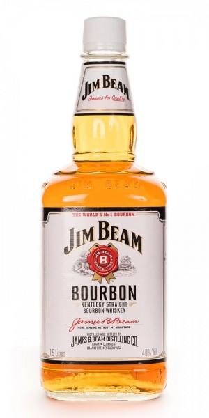 Jim Beam Kentucky Straight Bourbon Whiskey - 1.5L