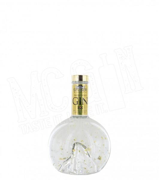 Studer Swiss Gold Gin in der Matterhorn-Flasche - 0.7L