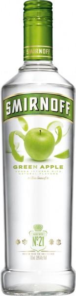 Smirnoff Flavours Vodka Green Apple - 0.7L