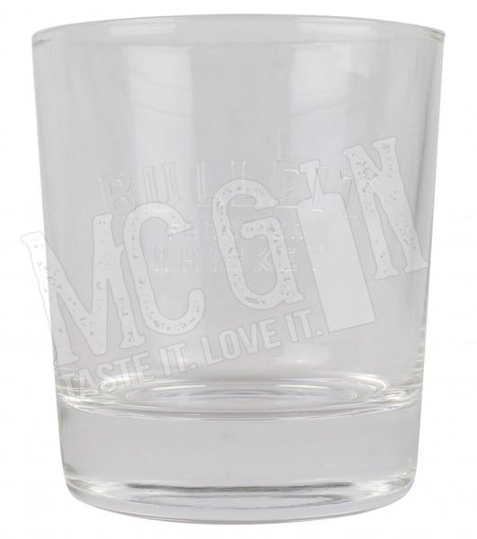 Bulleit Whisky Glas