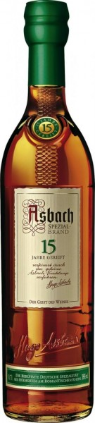 Asbach Spezialbrand 15 Jahre - 0.7L