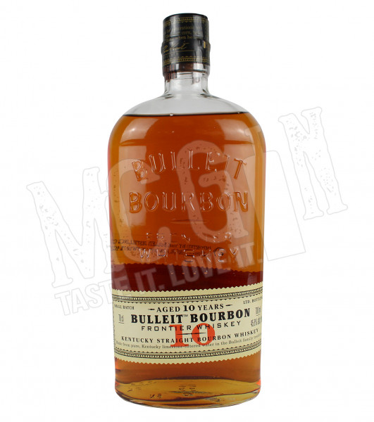 Bulleit 10 Years Bourbon Frontier Whiskey - 0,7L