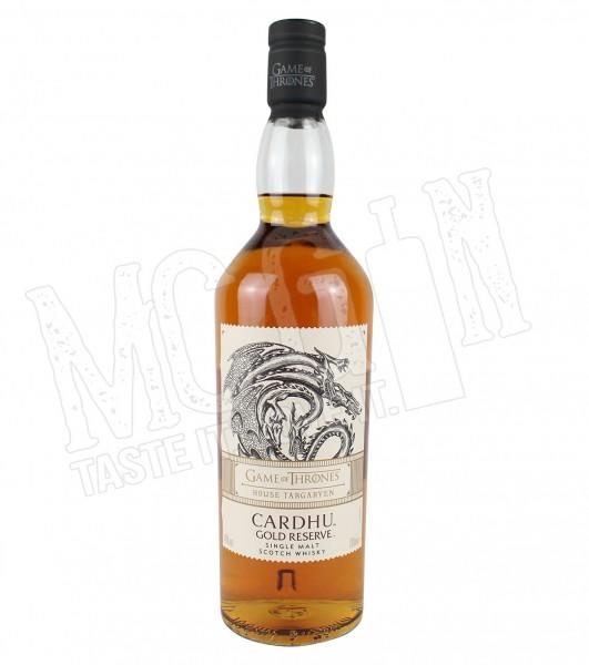 House Targaryen Cardhu Gold Reserve Single Malt - 40%