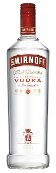 Smirnoff Red Label - 1.0L